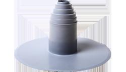 Фасонный уплотнительный ПВХ элемент кровли №2